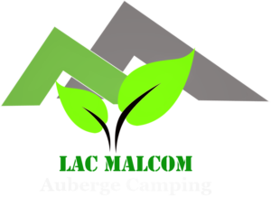 logo -L'auberge et le camping du Lac Malcom sont situés à Sayabec en Gaspésie