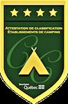 Logo - L'auberge et le camping du Lac Malcom sont situés à Sayabec en Gaspésie